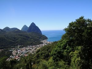 View of St Lucia